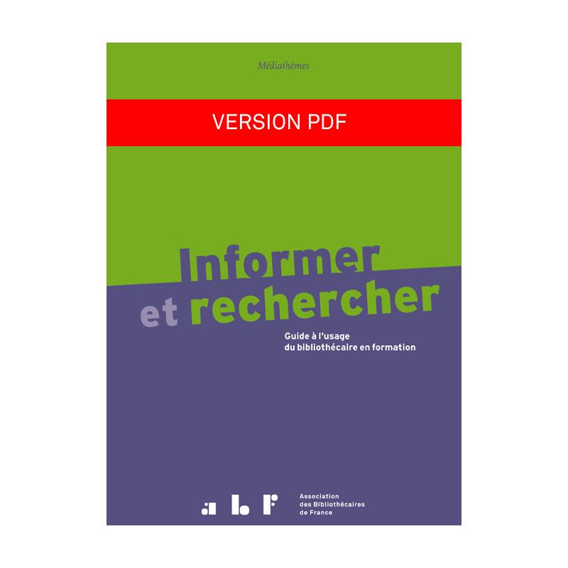 Informer et rechercher (version PDF)