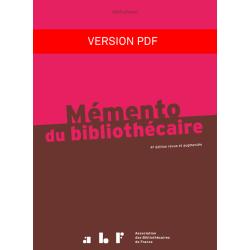 Mémento du bibliothécaire (version PDF)